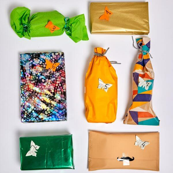 display of 7 gifts